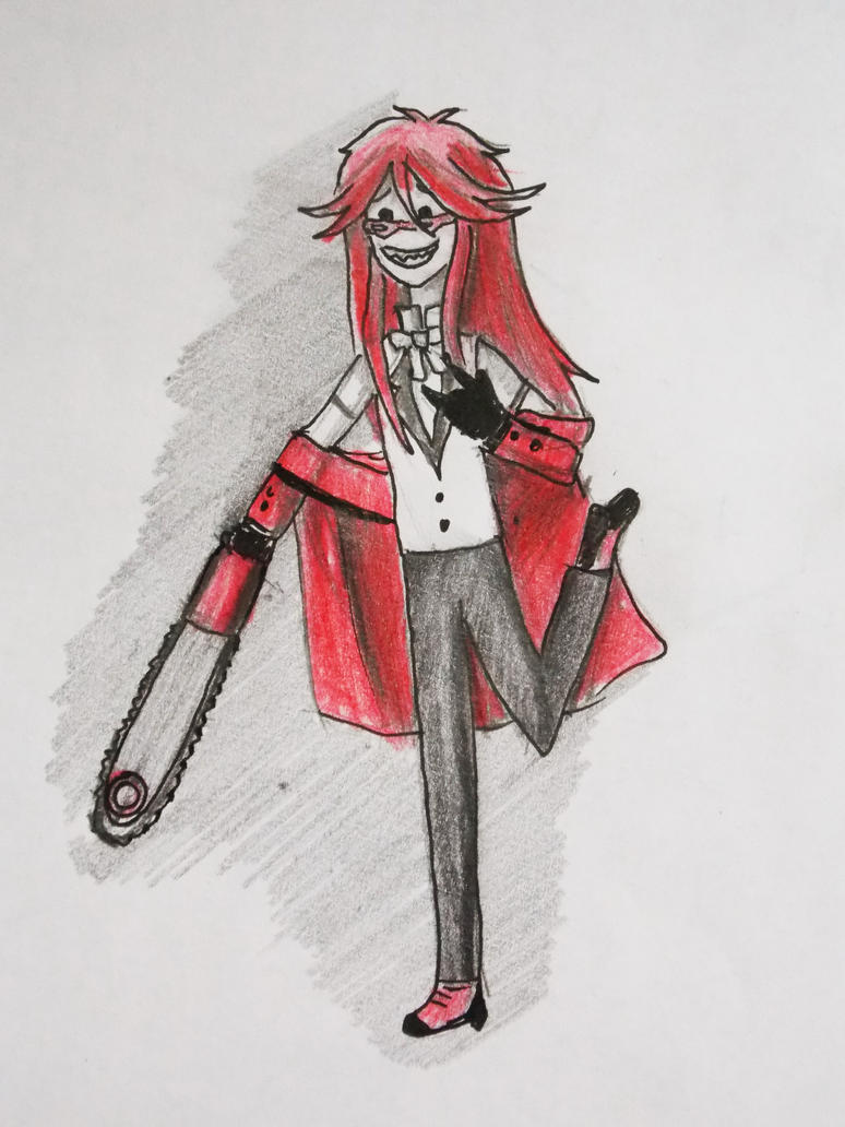 Sketchy Grell is sketchy by NitroRed