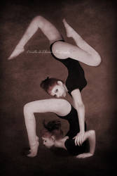 Contortion Sisters by Drusilla-du-Charme