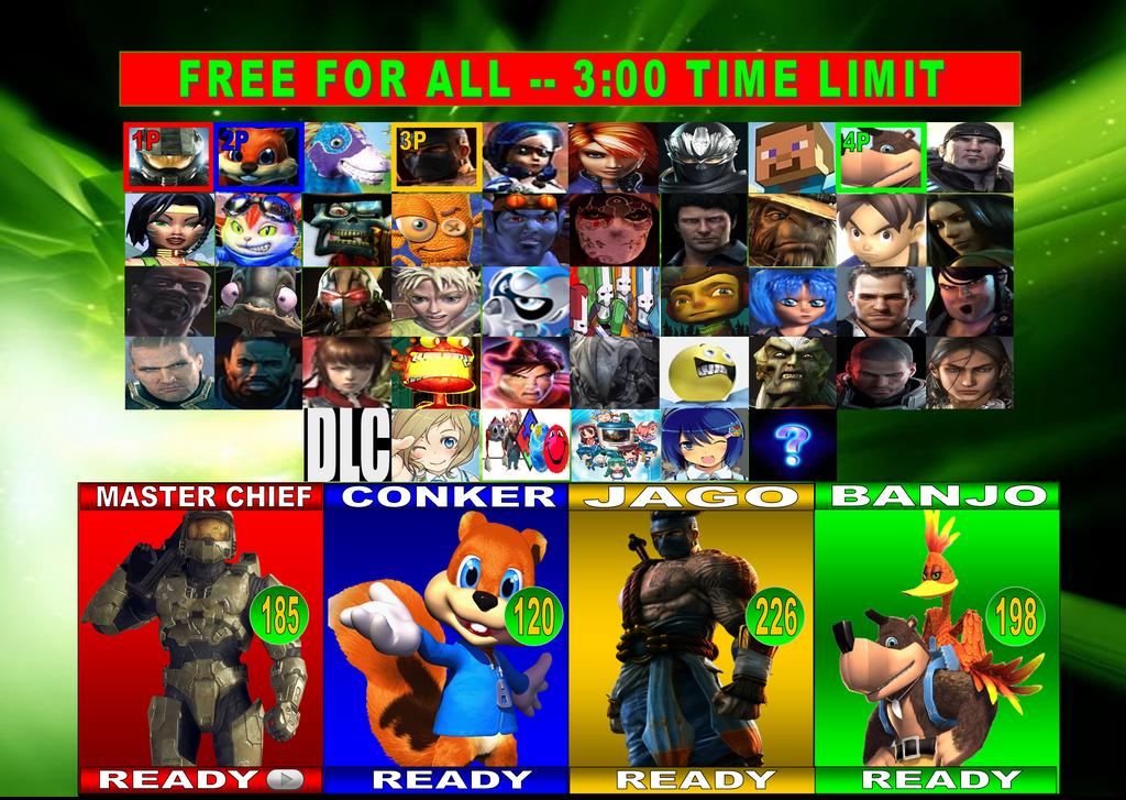 Xbox characters