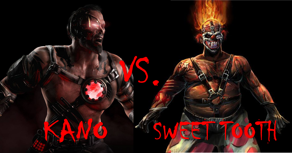 Kano vs sweet tooth by thesupermkmaster on deviantart - Sweet tooth wallpaper twisted metal ...