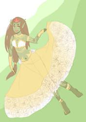 Plant Monster Princess by Dyohna
