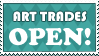Stamp: Art Trades OPEN by AaronBelli