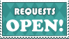 Stamp: Requests OPEN by AaronBelli