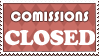 Stamp: Comissions CLOSED by AaronBelli