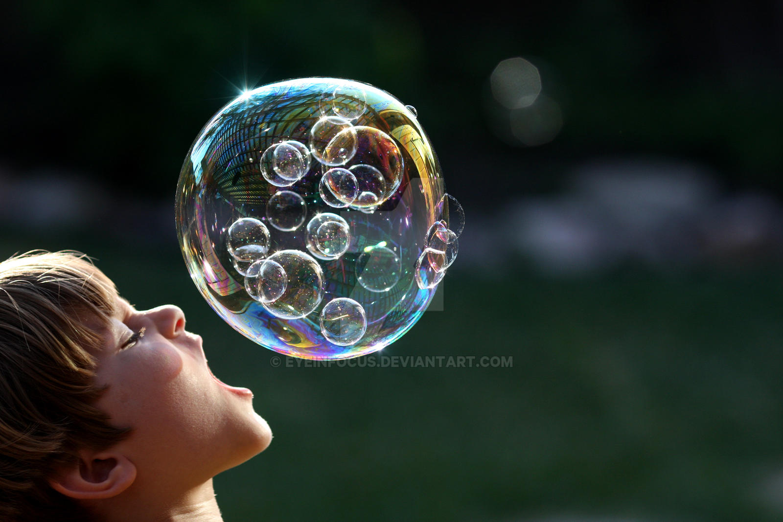 Can you swallow this bubble? by EyeInFocus