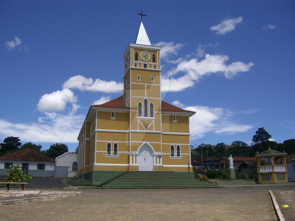 Yellow Gold - Igreja Matriz N. Sra. Mae dos Homens by EyeInFocus