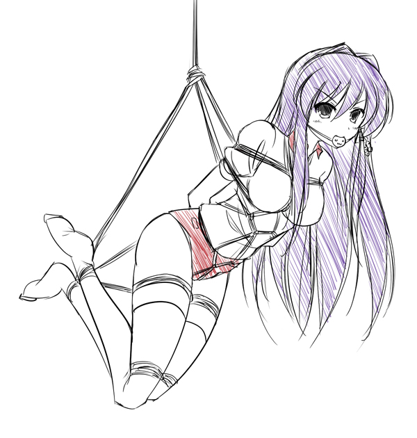 Kyou suspended by MaullarMaullar