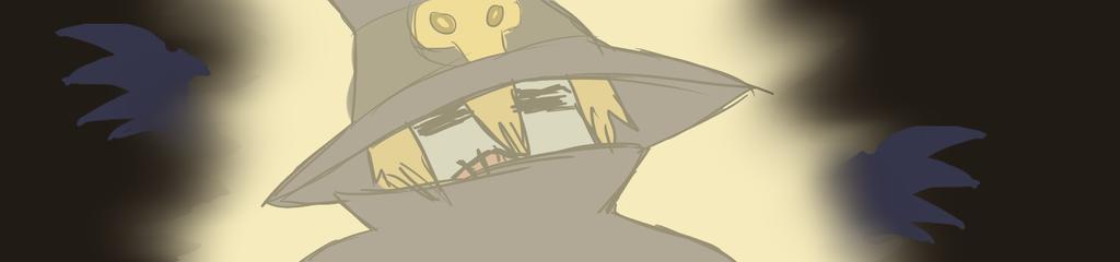 Wizardmon attacked by Kaleidoscopic-Yarn