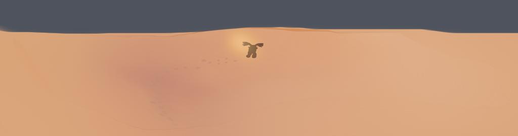 Desert wander by Kaleidoscopic-Yarn
