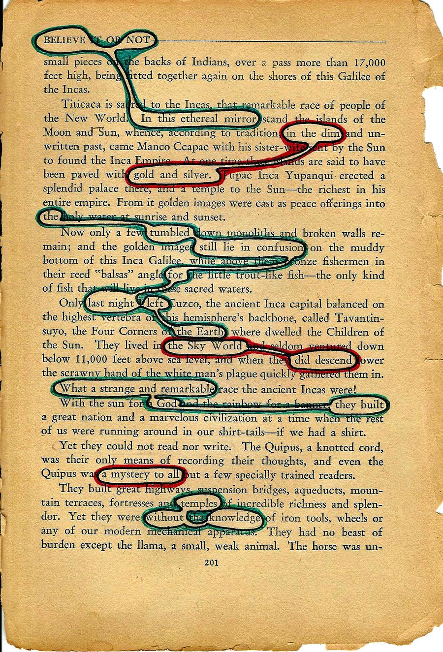 Believe Not-Found Poetry by danidrastic