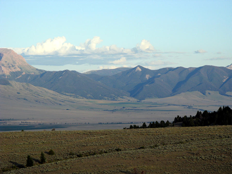 The Mountains of Wyoming - 1 by PapaZangief