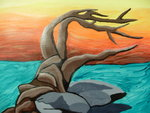 Gnarled Tree by faryewing