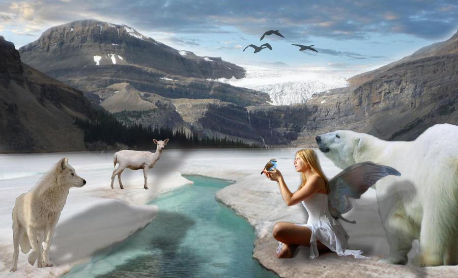 Fairy in Winter by faryewing