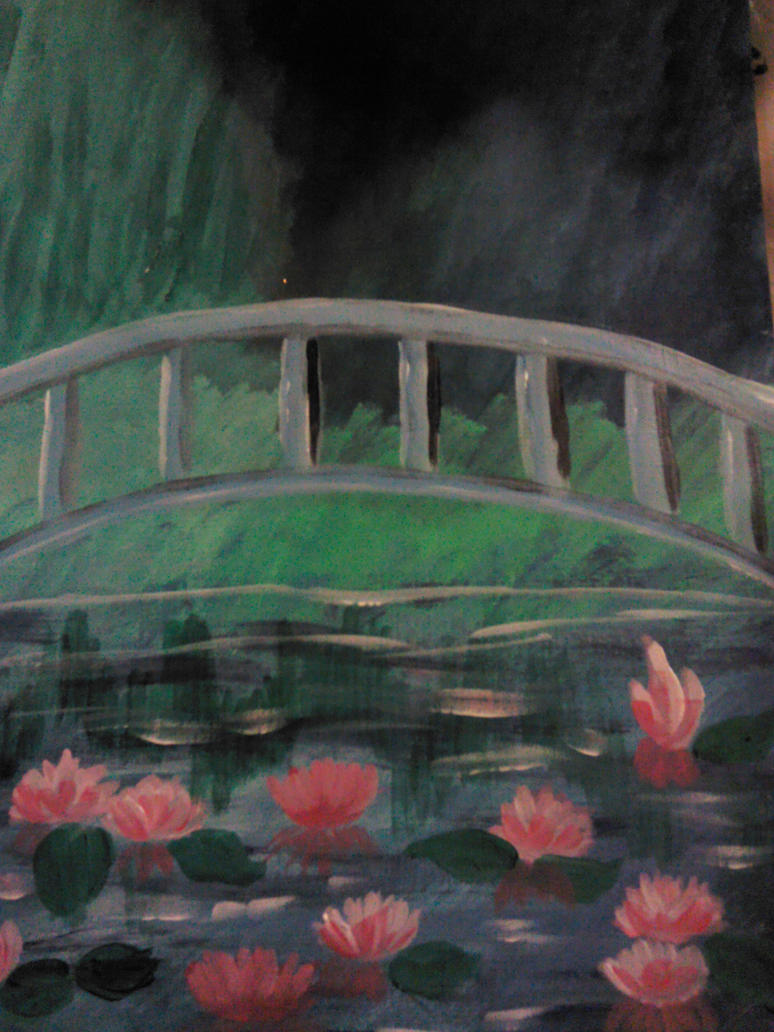 Monet repro by faryewing