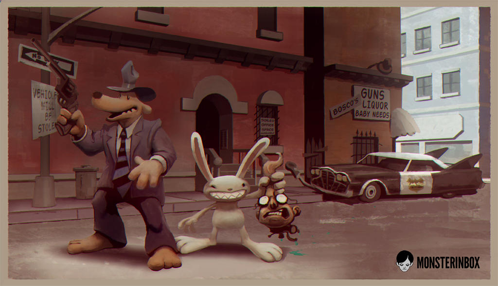 Sam and Max Freelance Police by juhoham