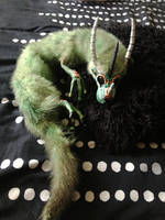 Moss Dragon Hatchling by darkangellord69