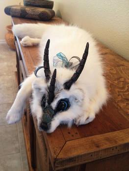 Fantasy Tundra Fox Plush