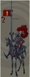 Steampunk Knight by NapalmDruid