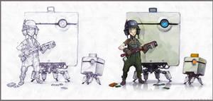 Pixel mechani by NapalmDruid