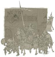 Returning of knight by NapalmDruid