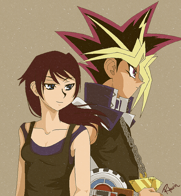 Rhuin and Yami by Rhuiner