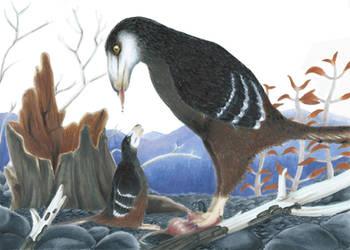 Deinonychus Salvaged by KirbyniferousRegret