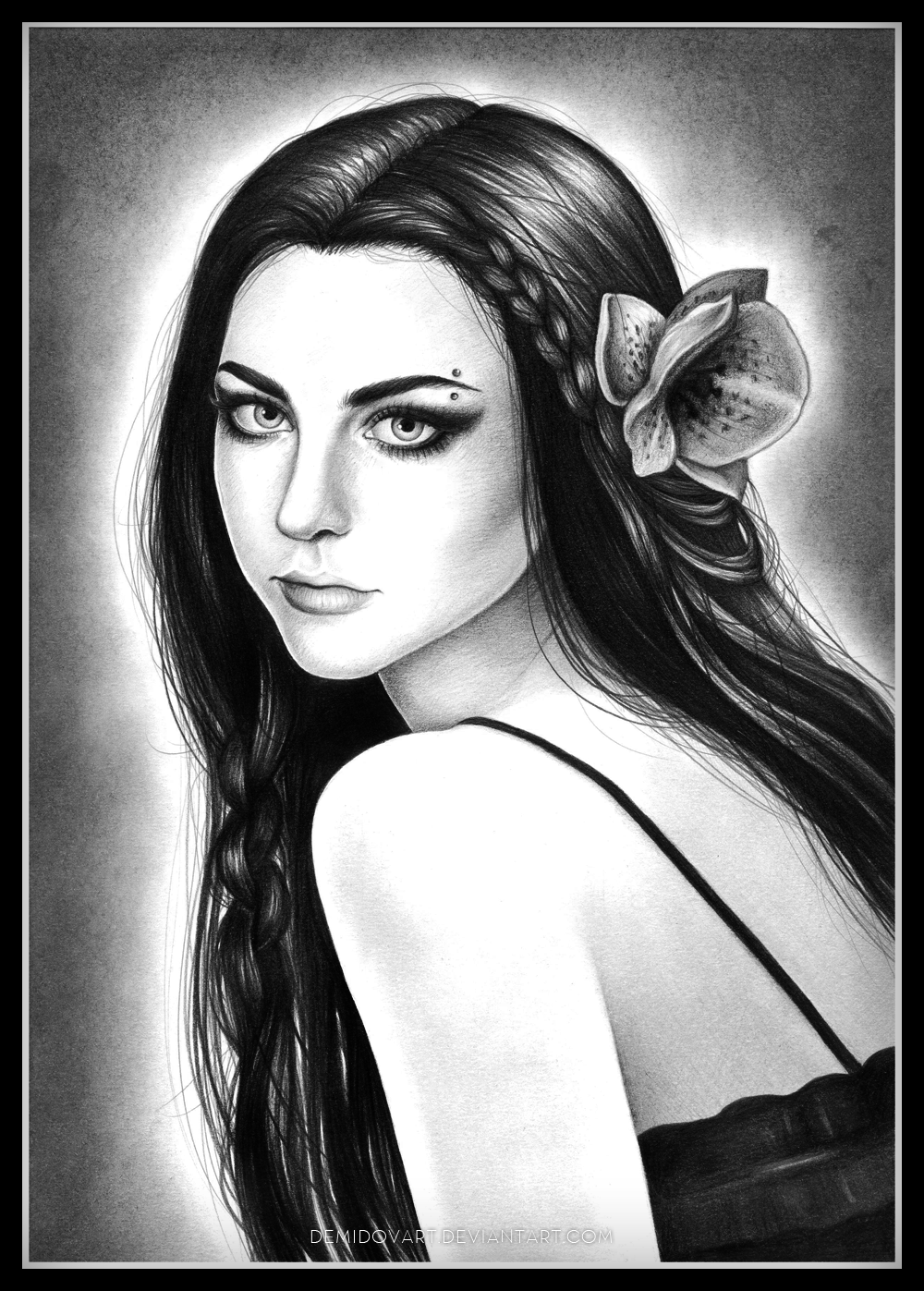 Amy Lee Evanescence By Demidovart On Deviantart-5654