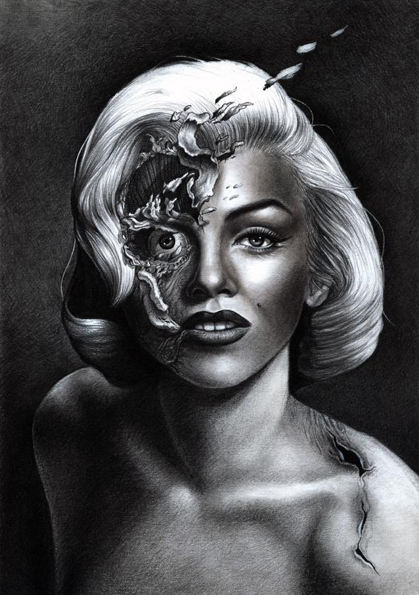 Marilyn Monroe by DemidovArt