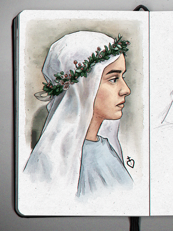 la religieuse by DemidovArt