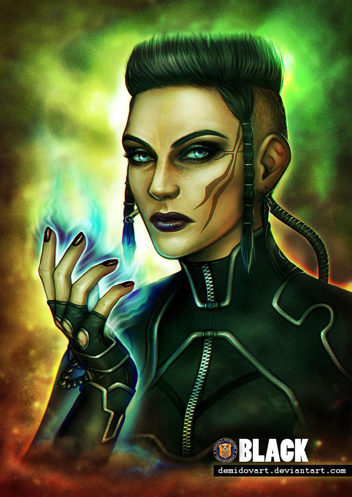 Abigail Black (Jericho) by DemidovArt