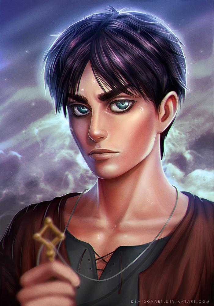 Eren Jaeger by DemidovArt