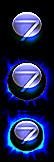 Blue Black Theme Start Button by XxOptiCaxX
