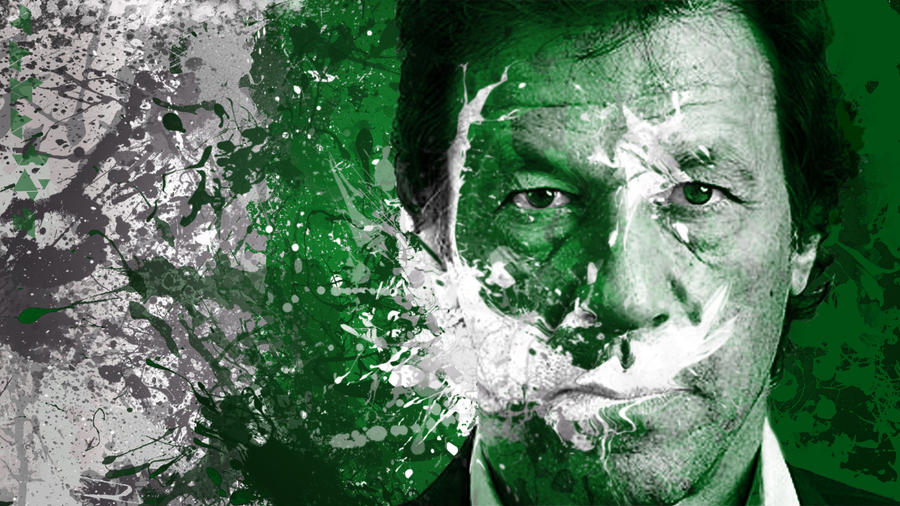 Imran Khan - Pakistan By Hamayel by Hamayel-Stellast
