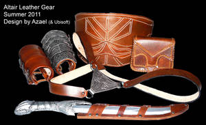 Altair Costume Leather Gear