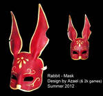 Rabbit Mask by Azael047