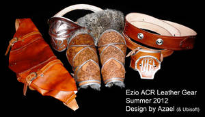 Ezio ACR Leather Gear by Azael047