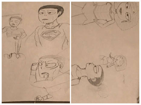 DC Heroes Sketches