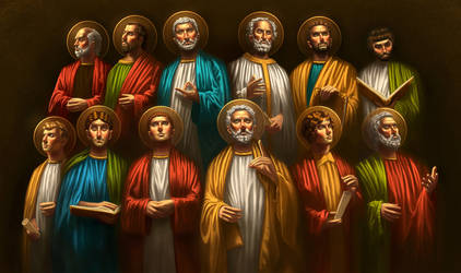 The Twelve Apostles by cgaddictworld