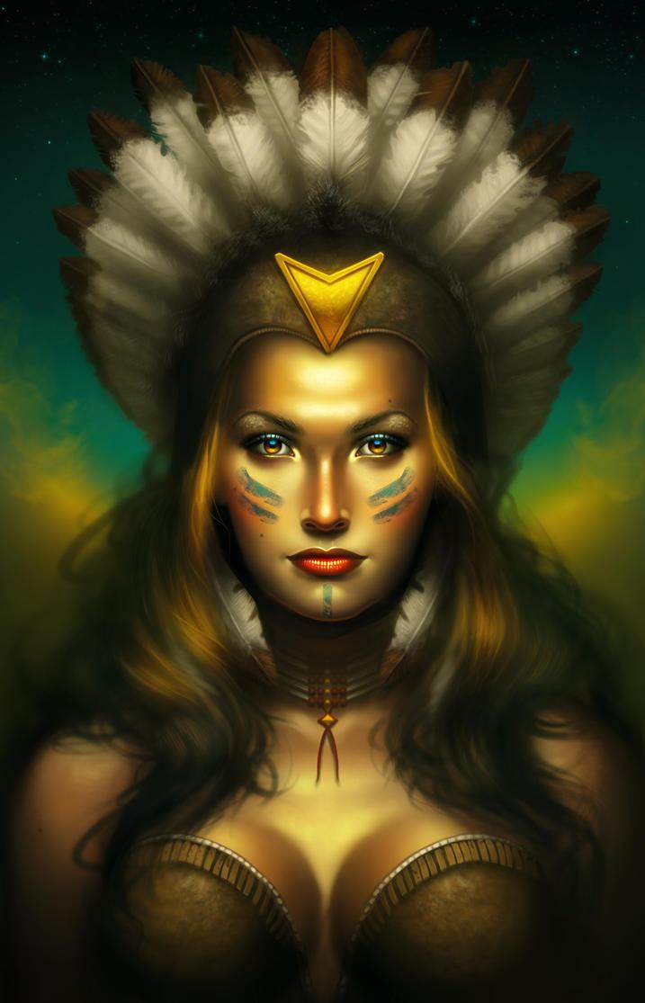 girl-naked-native-american-women-fantasy-art-pale-nude
