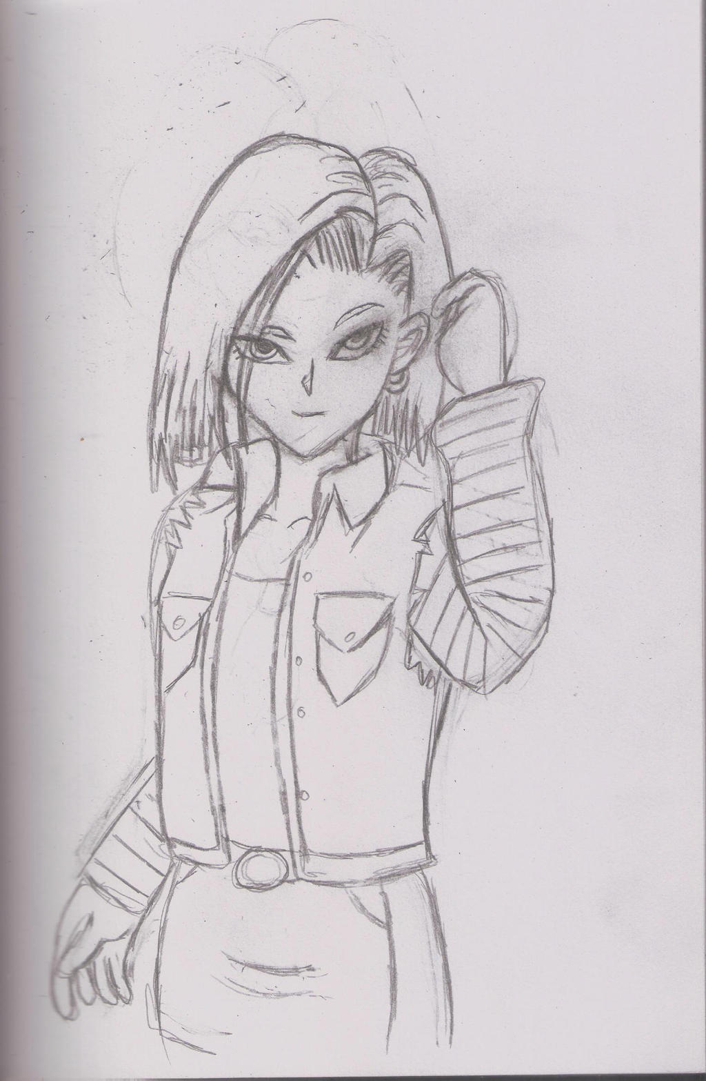 Android 18 by Autumn-Star-Dreamer