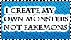 i make Monsters No Fakemon by Daiasita