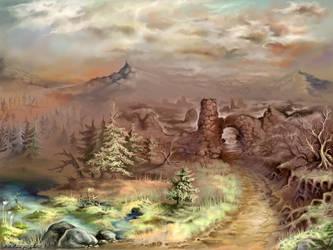 Forbidden Path by impaga