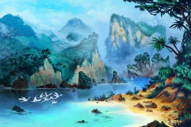Islands by impaga