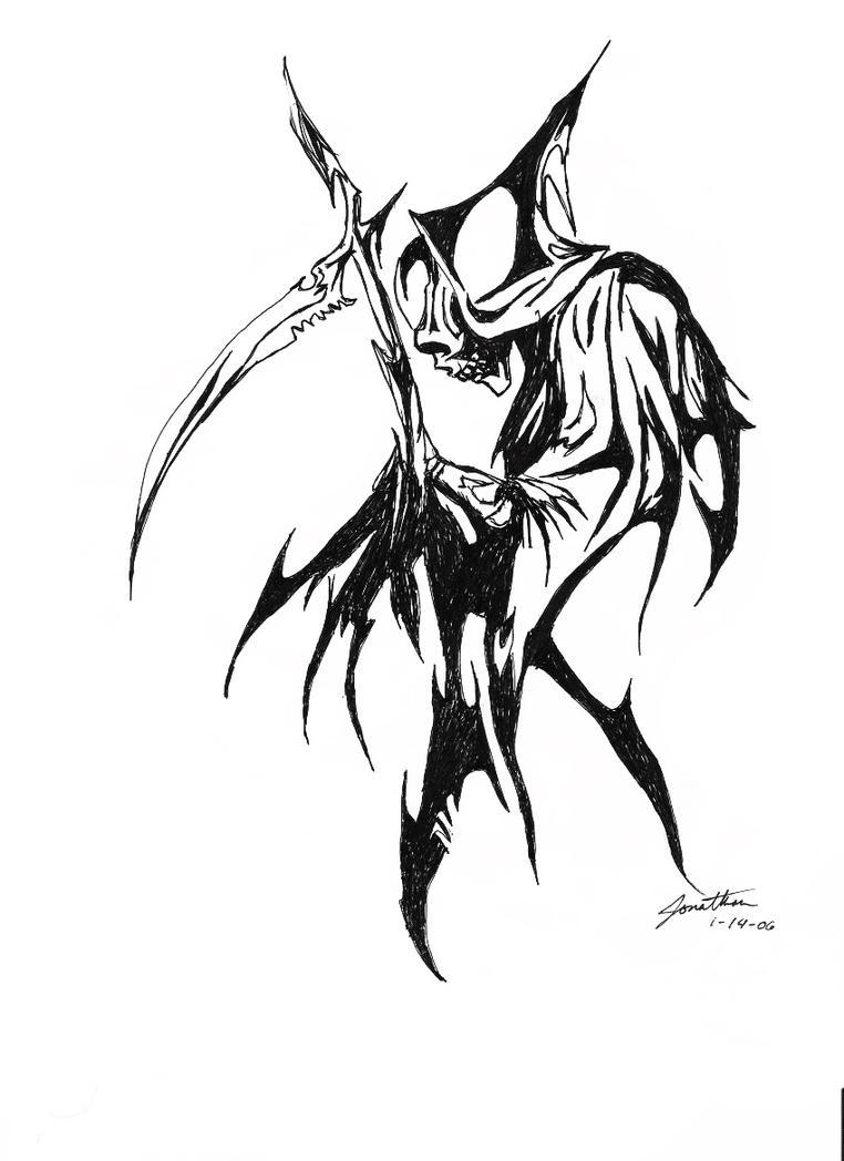Tribal Reaper by scionjon on DeviantArt