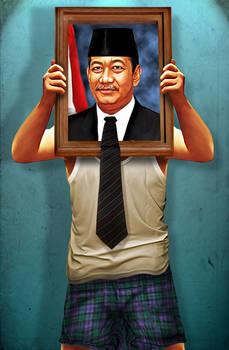 Naga Boneng Jadi Presiden