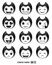 BATIM - Bendy Emojis by Eternities-Shadow