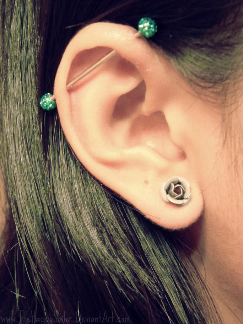 6 rad ear piercings you will love. Black Bedroom Furniture Sets. Home Design Ideas