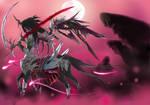 Black Centaur with Background