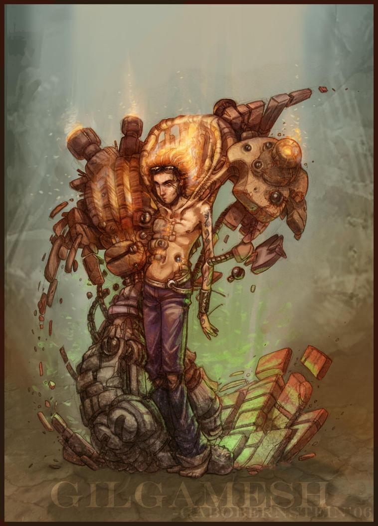 Gilgamesh by princendymion