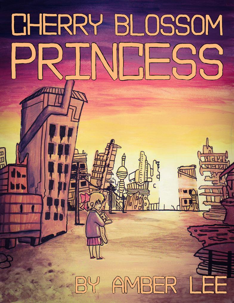 Cherry Blossom Princess Cover by CryptoboxComics